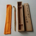 ANCIENT KISERU - with wooden box - 21.2 cm